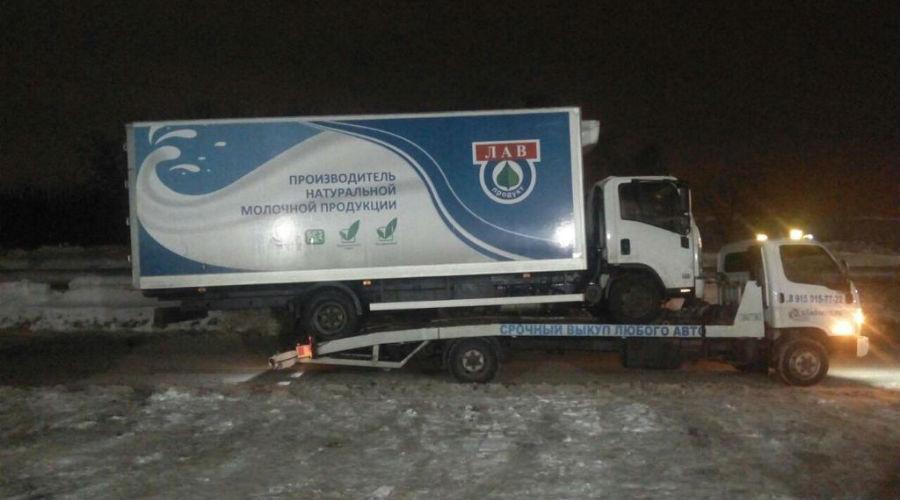 Эвакуация грузовичков