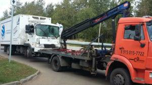 Эвакуатор для коммерческого грузового транспорта марки Hyundai