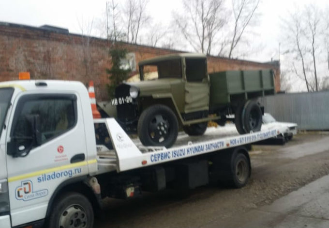 Эвакуация грузовиков фото