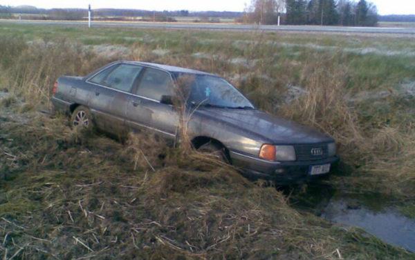 Вытащить авто из кювета фото