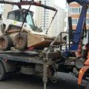 Эвакуация джипа, сила дорог