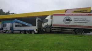 Эвакуация грузовика частичной погрузкой