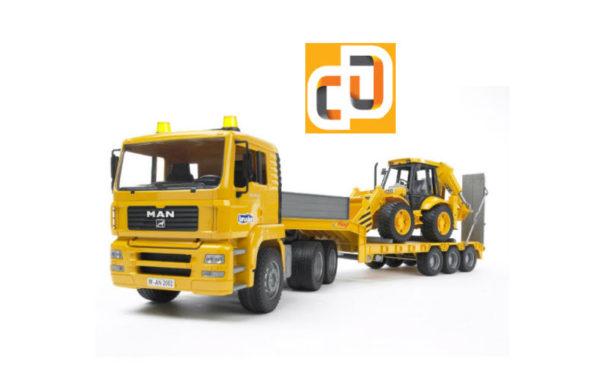 Перевозка строительной техники JCB