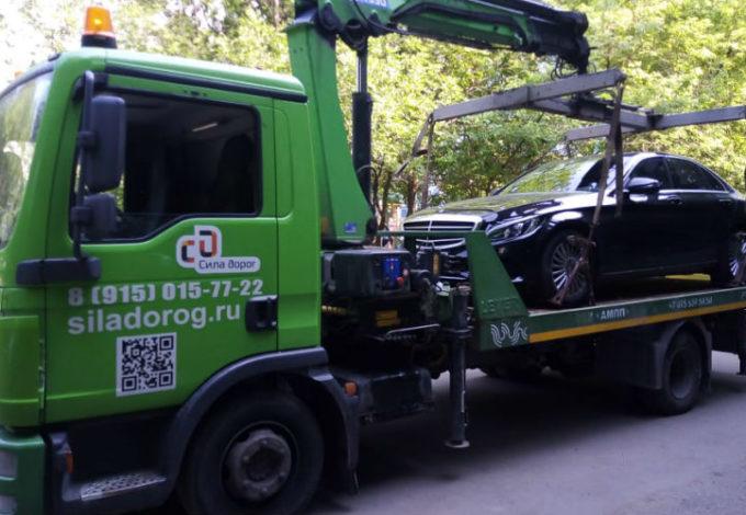 Эвакуация легковых авто от Силы Дорог
