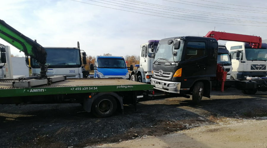 Транспортировка частичной погрузкой грузового авто