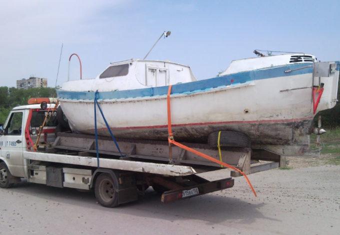 Перевозим лодку большую