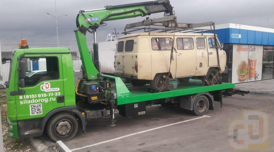 Перевозка старого микроавтобуса