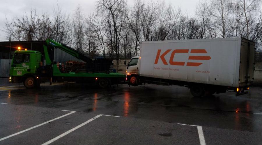 Перевозим грузовой авто частичной погрузкой