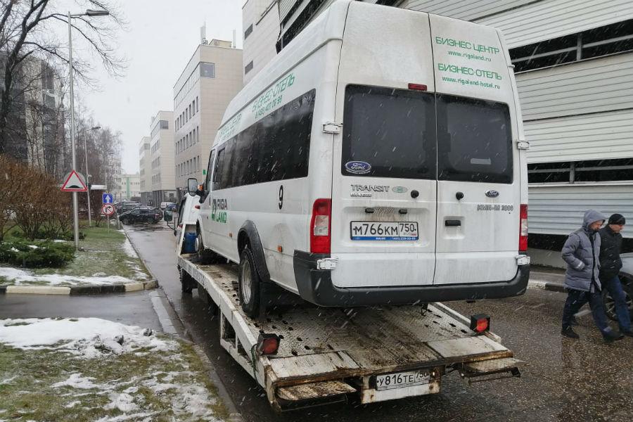 Перевозим большие микроавтобусы
