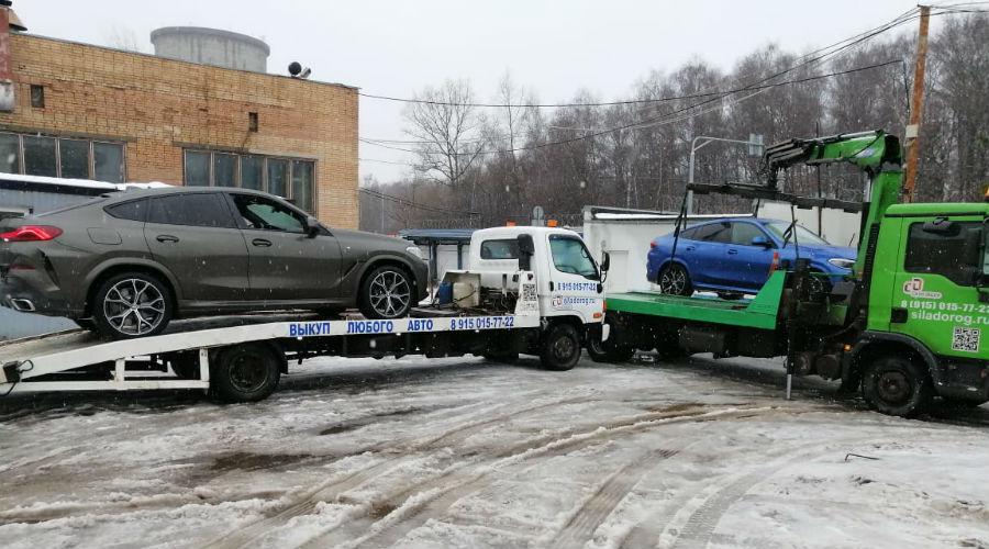 Перевозим автомобили БМВ