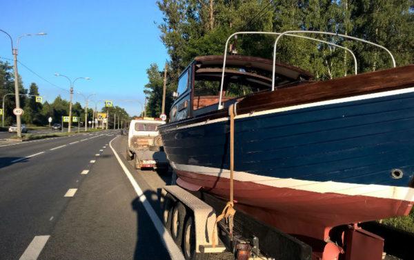 Как перевезти лодку?
