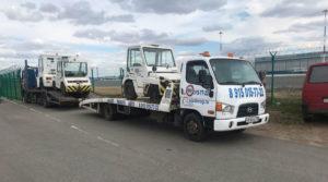Перевозим тягачи для доставки багажа в аэропорту Жуковский